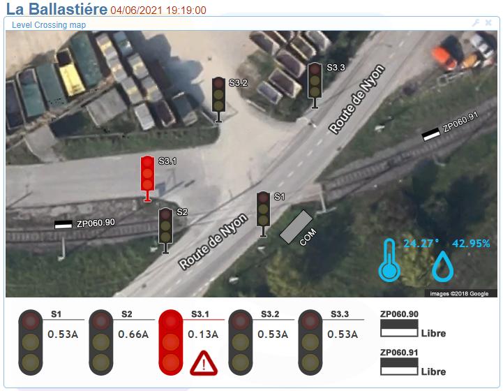 CCTV La Balastiere widget