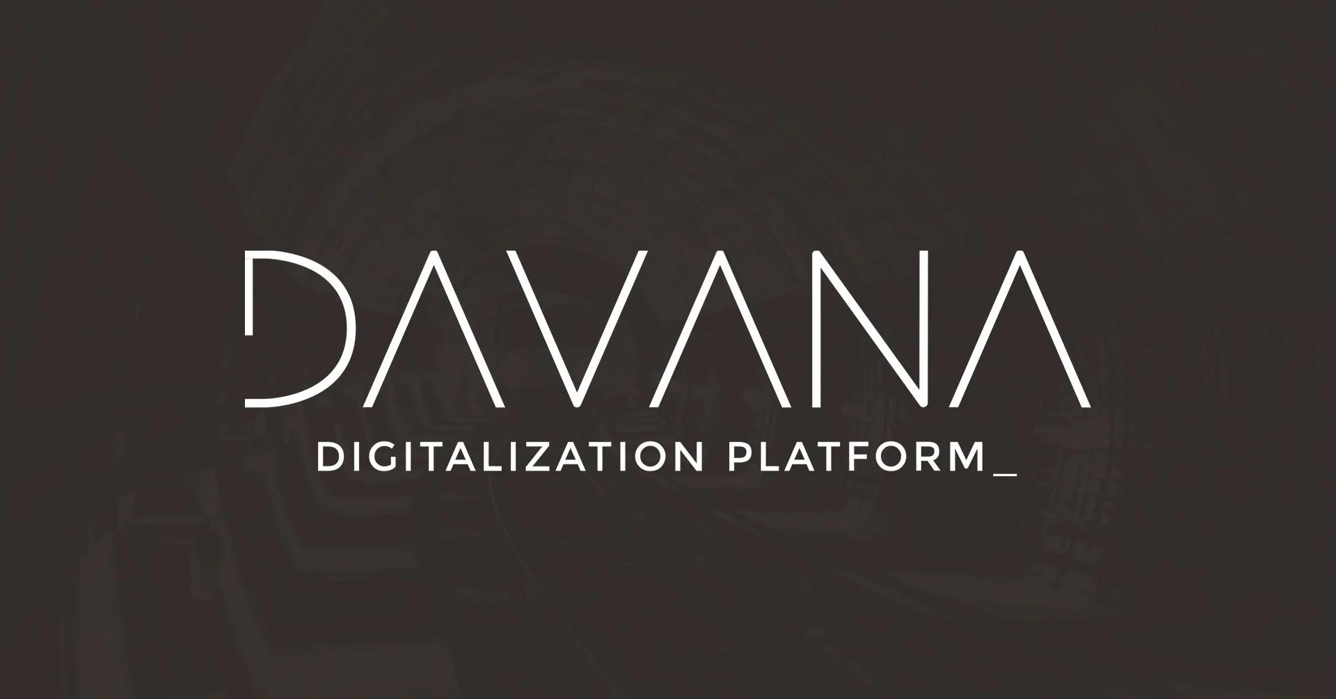 DAVANA Digitalization platform for railway